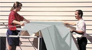 Vinyl Roof Installed
