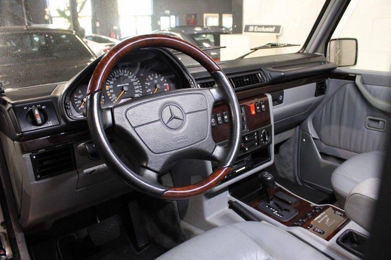 Mercedes-Benz G-Klasse 500 fabrieks 55-uitgev. Youngtimer aut. 7-zits afbeelding 4