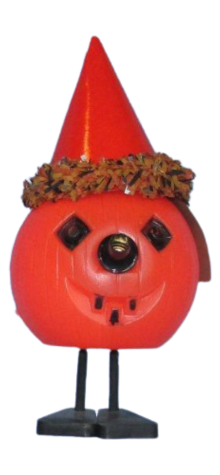 Mr. Toot-Toot the Pumpkin with Noise Maker Nose photo
