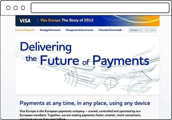 Visa Europe Annual Report 2012 Slider-1