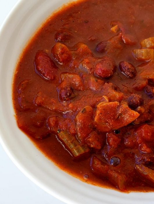 Hearty Crockpot Chili | Let's Talk Vegan