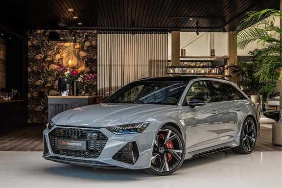 Audi RS6 Avant 4.0 TFSI quattro | B&O | Panorama | Stoelkoeling | Head-up Display | Designpakket zwart