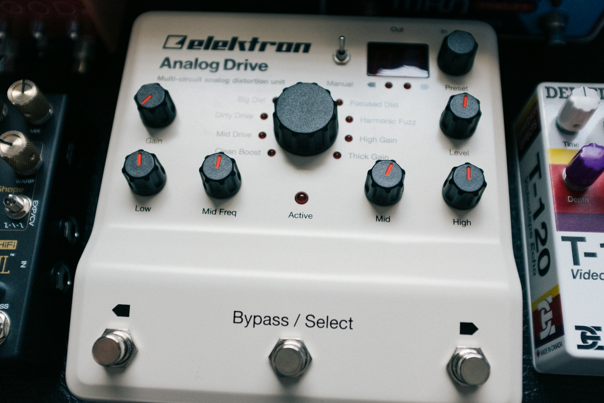 An image of the Elektron Analog Drive.