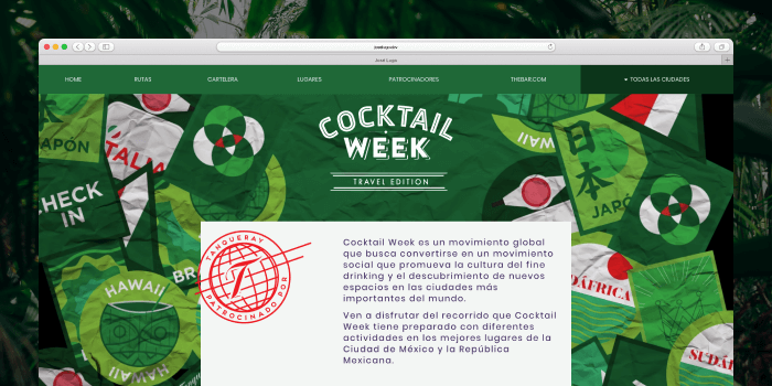 Cocktail Week by Tanqueray