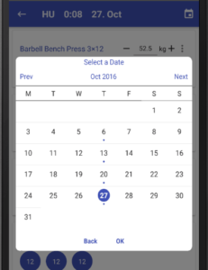 React Native Calendar