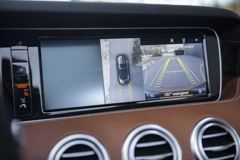 Mercedes-Benz S63 Cabrio 63 AMG 4Matic DISTRONIC + BTW + BURMESTER afbeelding 16