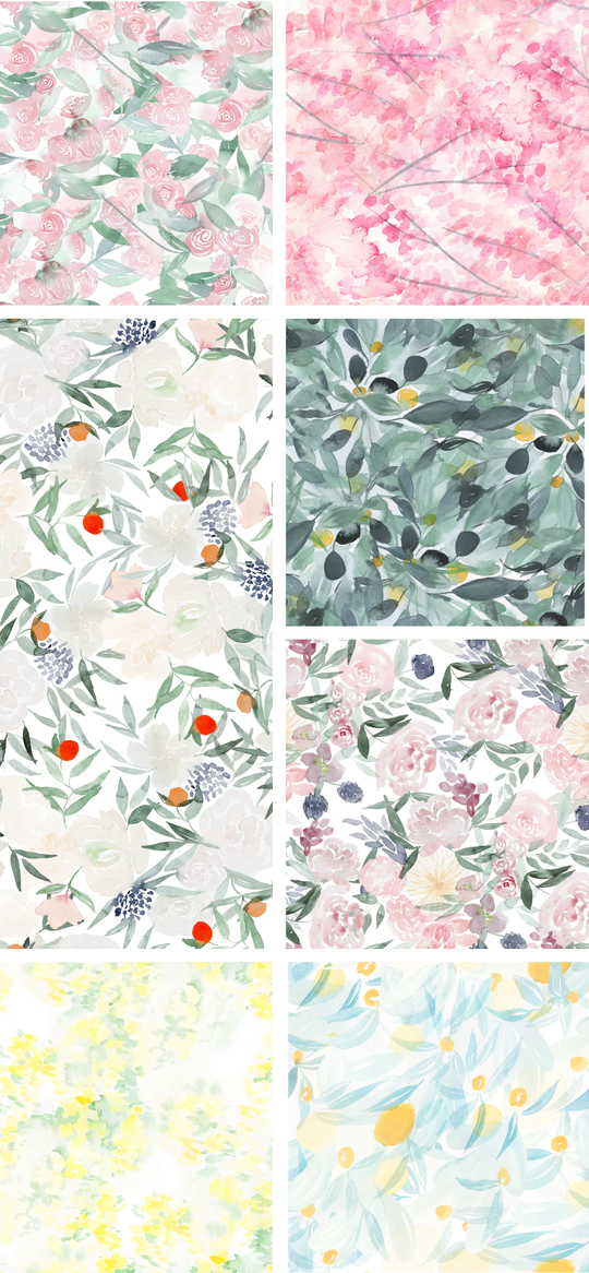 One and Only Paper patterns on Spoonflower