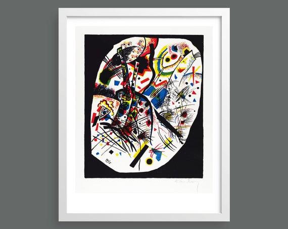 Kleine Welten III by Vasily Kandinsky