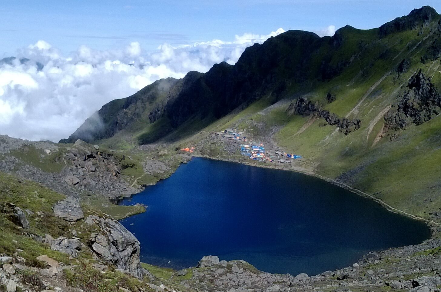 Gosainkunda Lake of Rasuwa