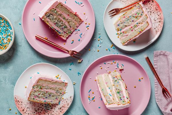 Funfetti Layered Cake