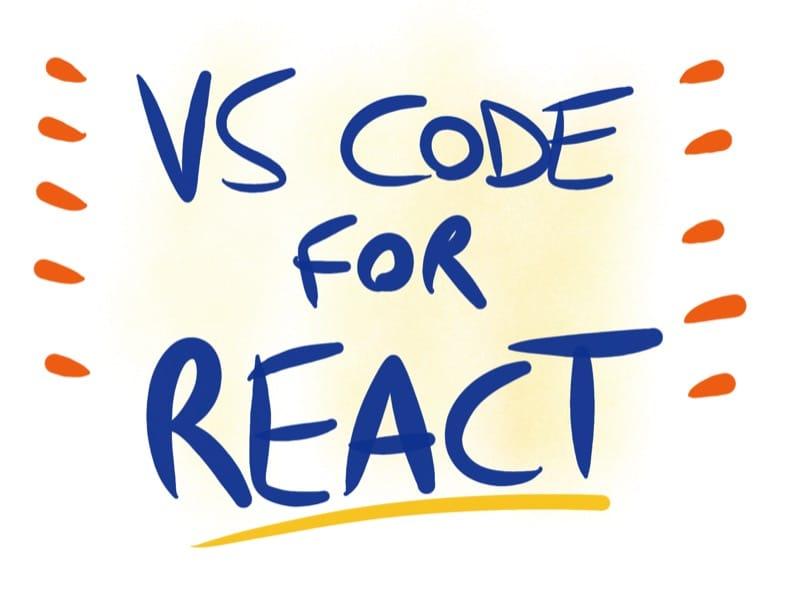 VS Code setup for React development