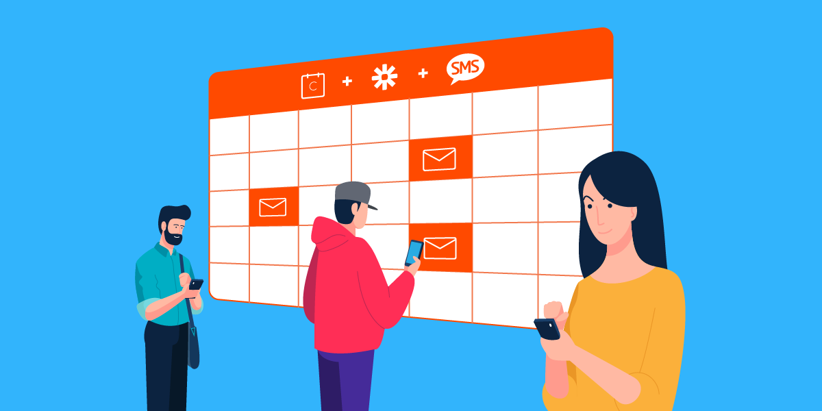 Zapier: Send SMS confirmations and reminders for Calendly appointments