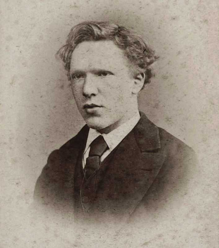 Vincent van Gogh in 1873, when he worked at the Goupil & Cie gallery in The Hague