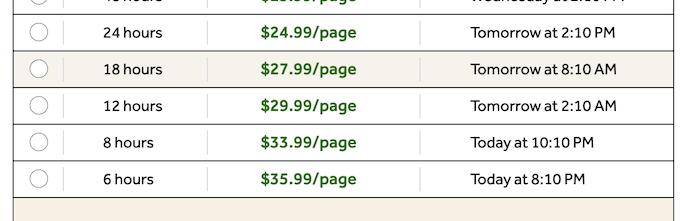 bigassignments.com pricing