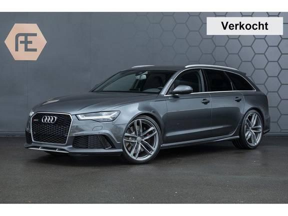 Audi RS6 Avant 4.0 TFSI quattro Pro Line Plus Vol leder + Stuurwielverwarming