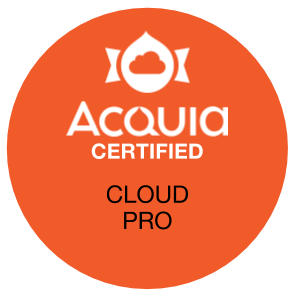 Acquia Certified Cloud Pro Exam Badge
