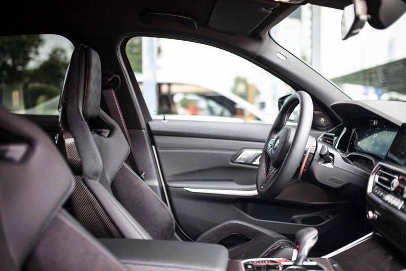 BMW M3 Competition G80 *HUD / M Driver's Pack / Laser / Keramisch / Harman-Kardon / Schaalstoelen* afbeelding 6