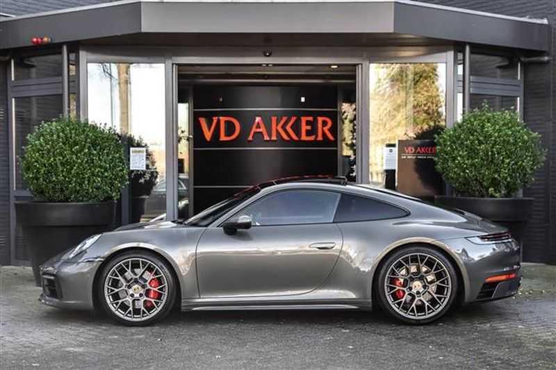 Porsche 911 4S SPORTDESIGN+LIFTSYST.+GLAS DAK+4WSTURING NP.219K afbeelding 10