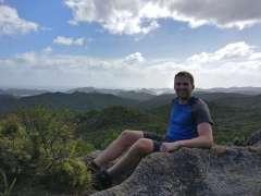 Having a rest up Maungapiko