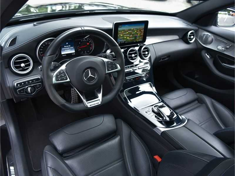 Mercedes-Benz C-Klasse C63 T AMG Perf-Uitlaat Pano Burmester Comfort-Memo HUD Rij-Ast TopView Keyless afbeelding 9
