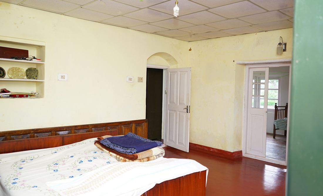Another bedroom of the house. The main wing has 5 fully functional bedrooms