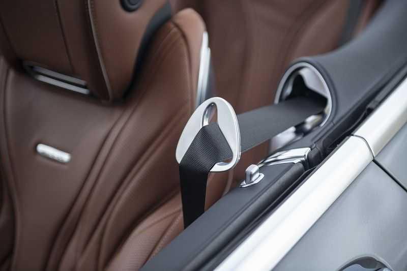 Mercedes-Benz S63 Cabrio 63 AMG 4Matic DISTRONIC + BTW + BURMESTER afbeelding 25