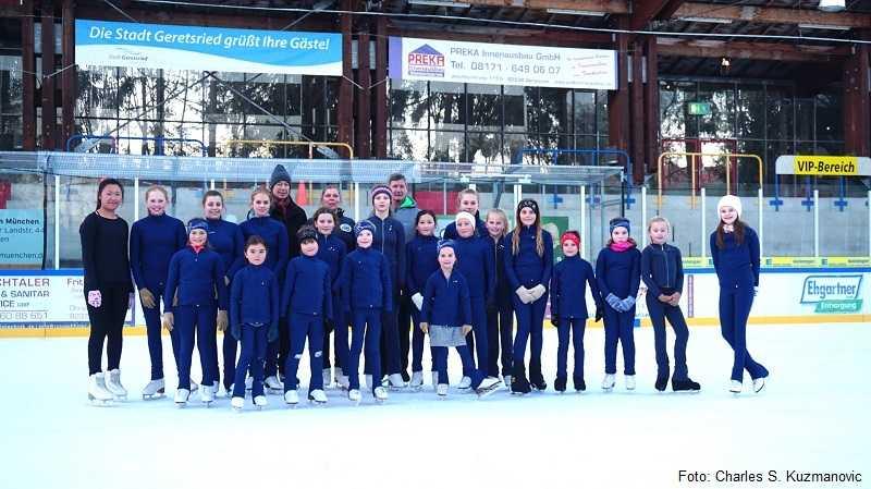Eiskunstlauf Gruppe