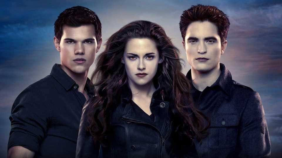 Pattinson, Stewart and Lautner in The Twilight Saga: Breaking Dawn Part 2