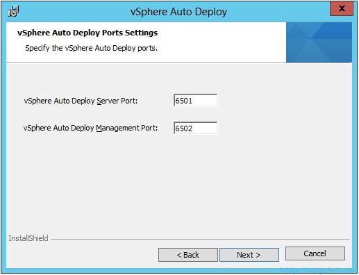 VMware vSphere Auto Deploy installation guide - software 7