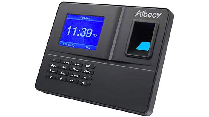 Mobile 32 Battery Powered Fingerprint Time Clock