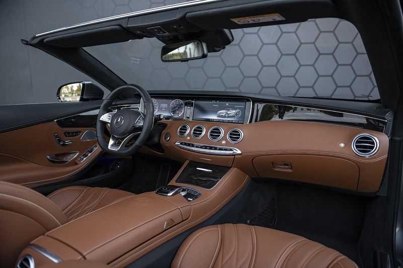 Mercedes-Benz S63 Cabrio 63 AMG 4Matic DISTRONIC + BTW + BURMESTER afbeelding 6