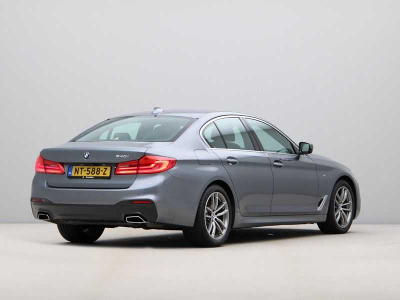 BMW 5 Serie 540i High Exe M-Sport Aut. afbeelding 4