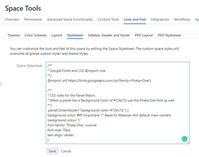 How To Customise Fonts And Formatting In Confluence Using In Built Functionality