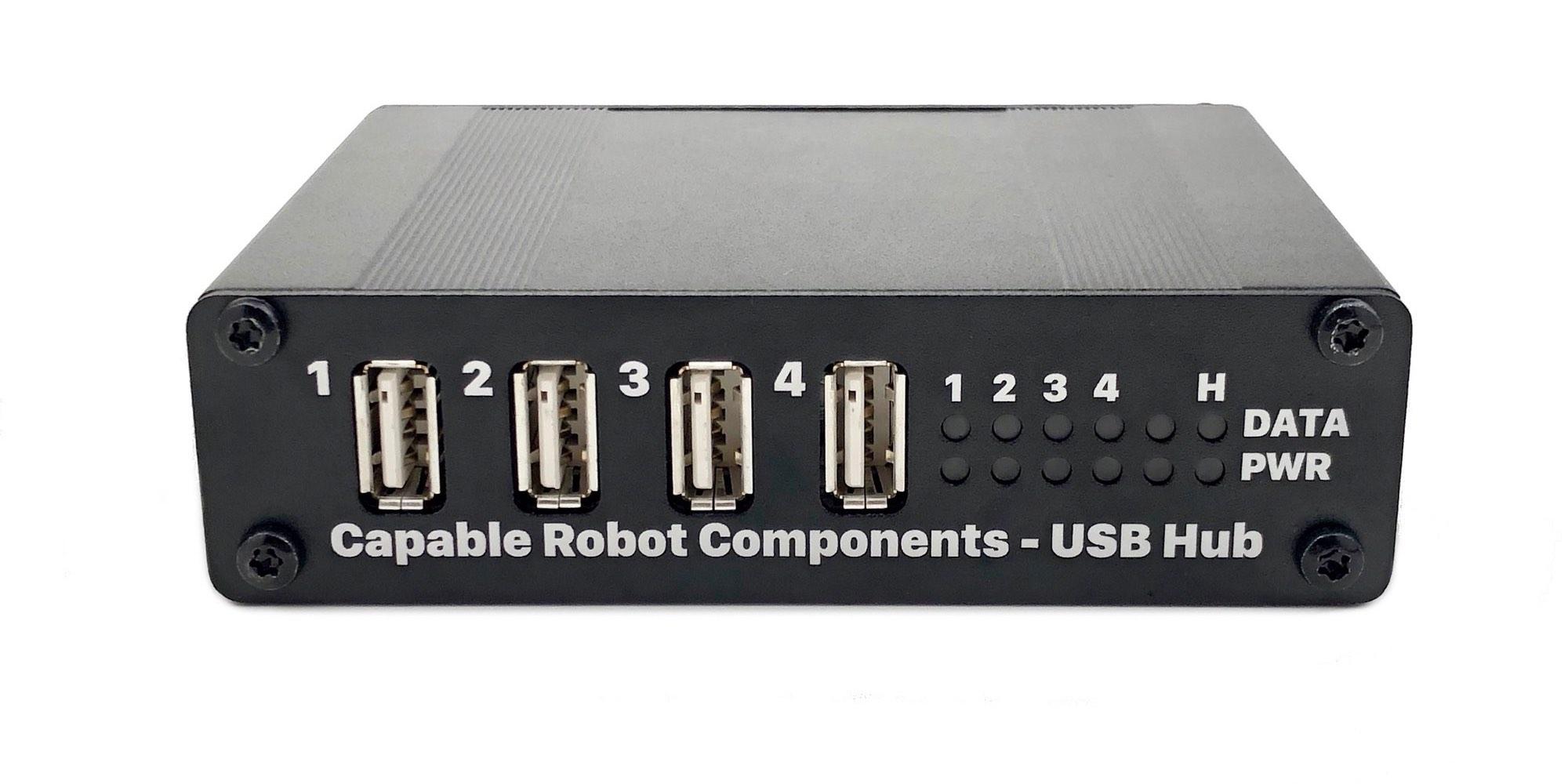 USB Hub in Case, Front