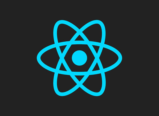 React Native logo.