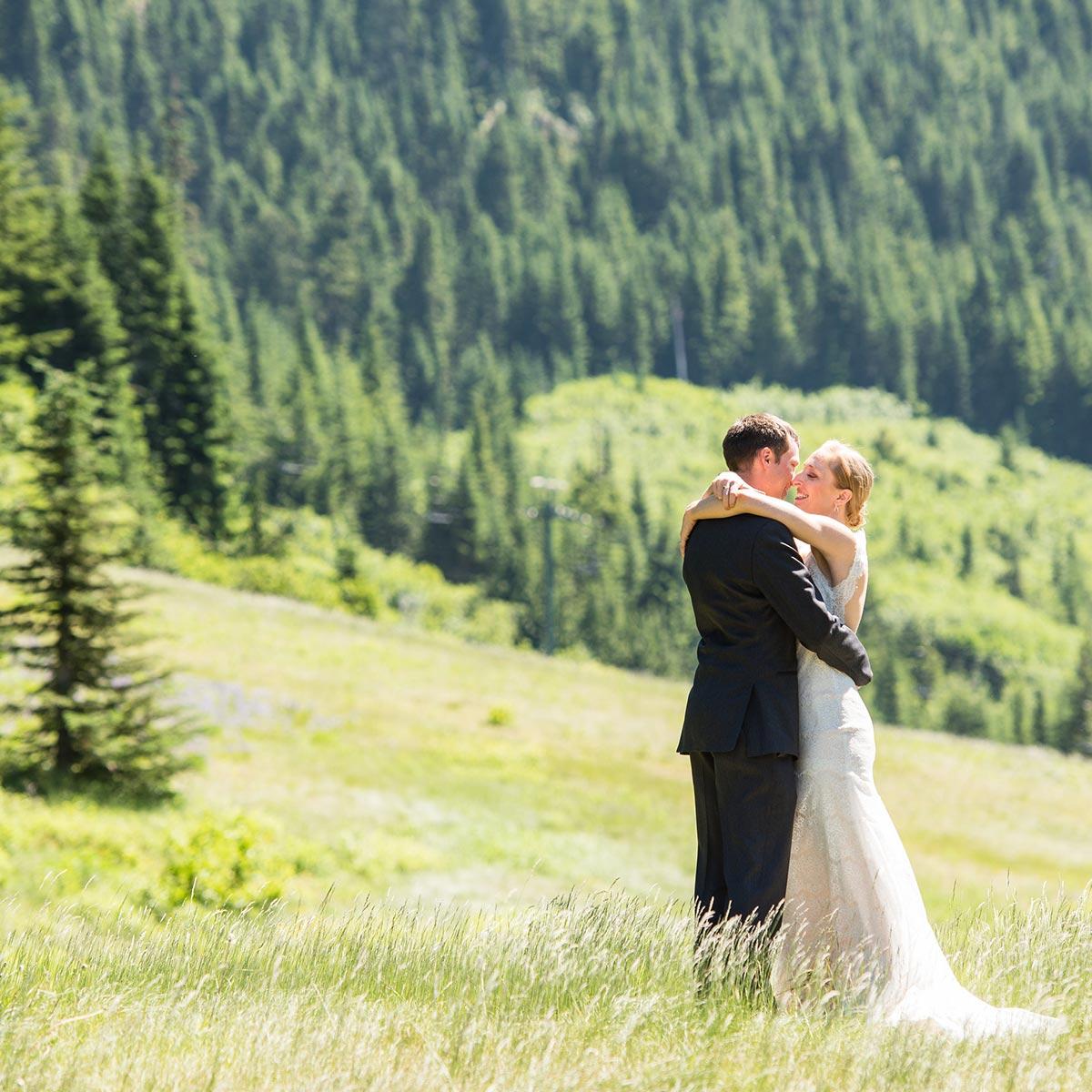 Wedding at Crystal Mountain
