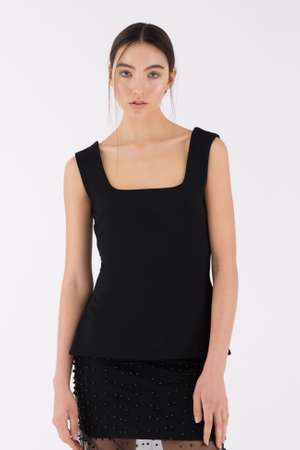 Square Top, Black