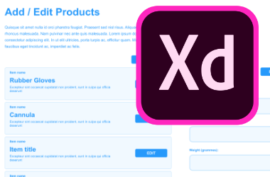 Wire-framing with Adobe XD