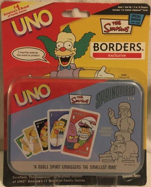 Simpsons: Springfield Uno
