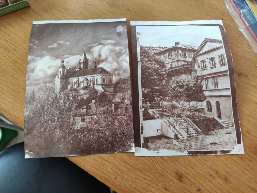 Salt Paper Prints