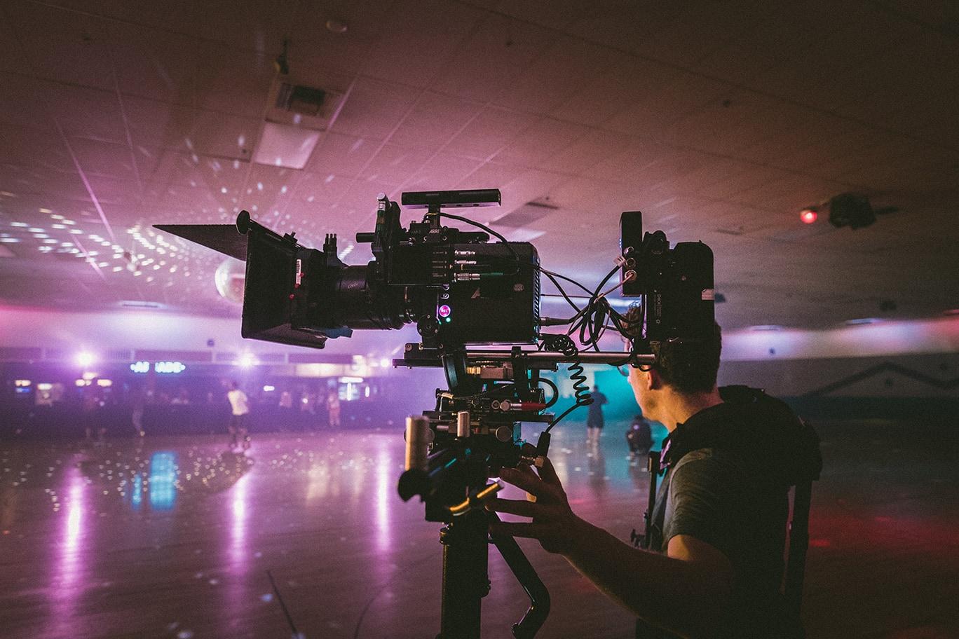 camera man on site