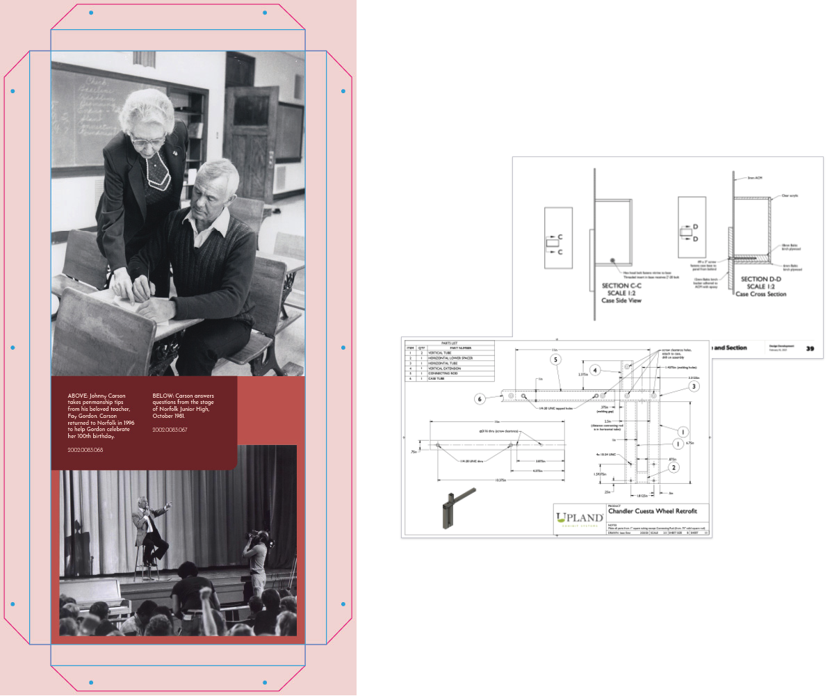 museum exhibit construction documents example