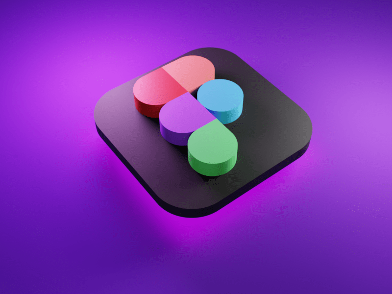 Figma 3D icon