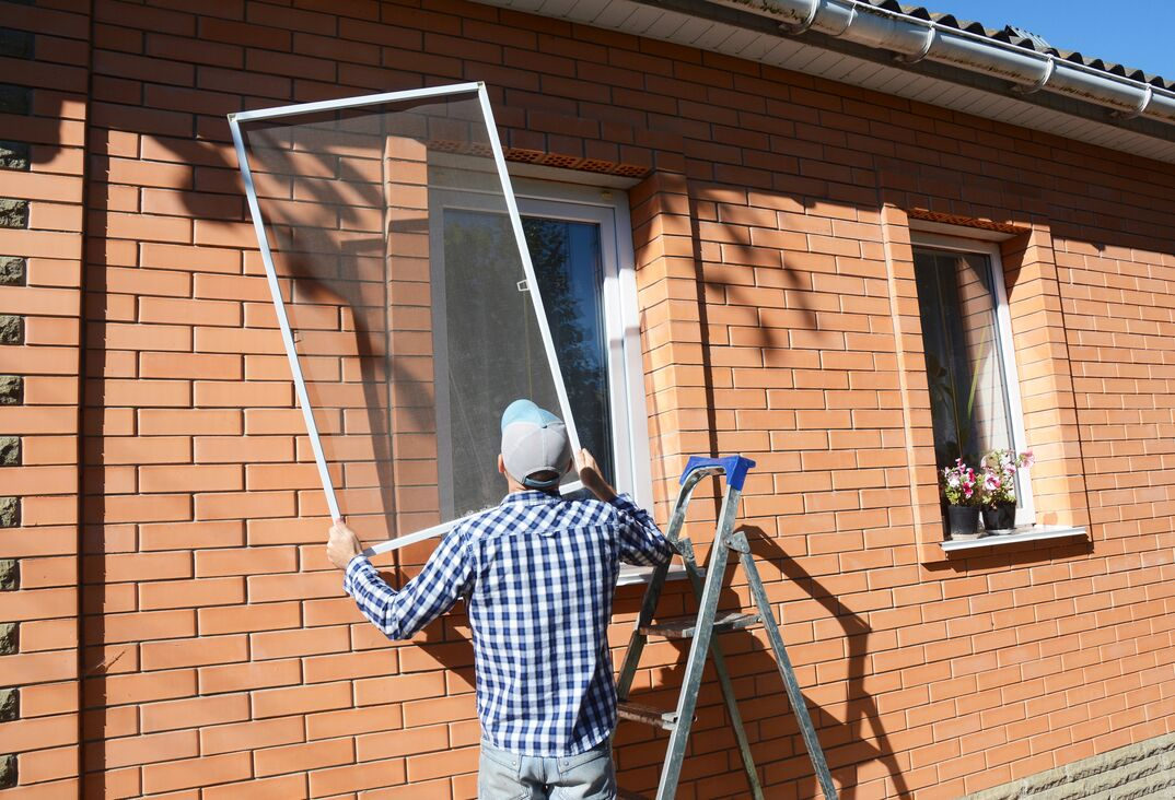 installing a mosquito screen