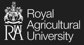 Royal Agricultural University logo