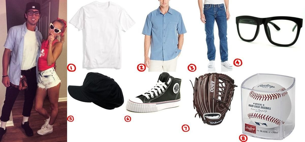 How to Make a Geeky Baseball Player Squints Costume  sc 1 st  Costumet & Dress like Squints from The Sandlot Costume for Cosplay u0026 Halloween