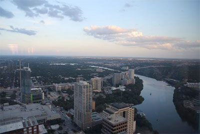 City of Austin from above