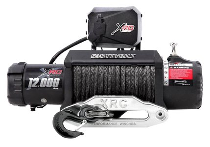 Smittybilt Gen2 XRC Comp 12000 Synthetic Winch 98412 12000 lb winch