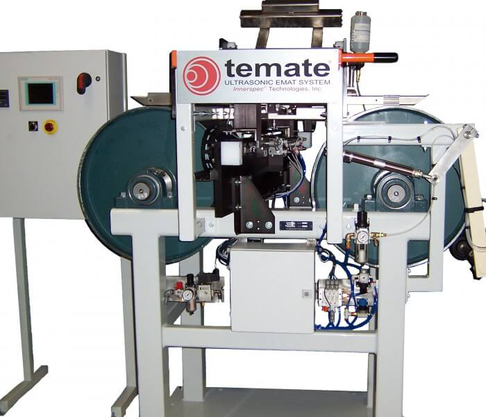 Laminated Metallic Strip Inspection with the temate Pi-GW