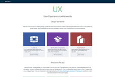 The UX homepage.